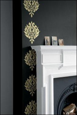 LTL3 - Designer Blossom stencil view 1.