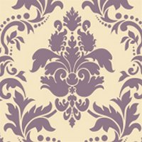 Stencil Library large damask stencil