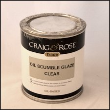 Oil-Based Scumble Glaze - 500ml
